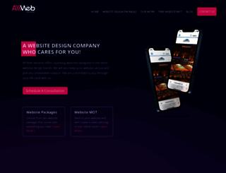 allwebservices.co.uk screenshot