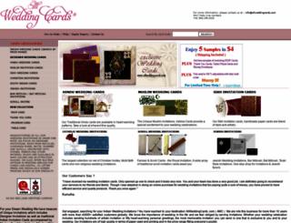 allweddingcards.com screenshot