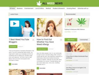 allweednews.com screenshot