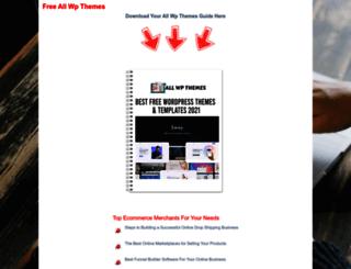 allwpthemes.net screenshot