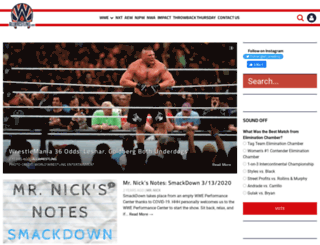 allwrestling.com screenshot