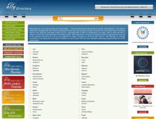 allydirectory.com screenshot