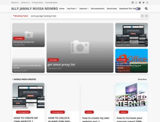 allyjamaly1.blogspot.com screenshot