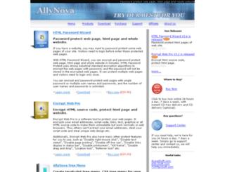 allynova.com screenshot