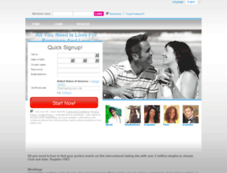 allyouneedislove.love-match.net screenshot
