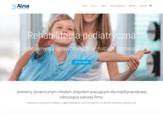 alma-europe.com screenshot