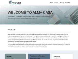 almacasa.co.za screenshot