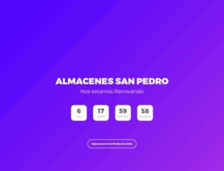 almacenessanpedro.com.mx screenshot