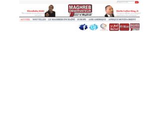 almaghreb-almoulahed.com screenshot