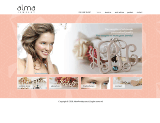 almajewelry.com screenshot