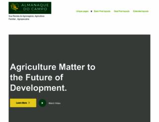 almanaquedocampo.com.br screenshot
