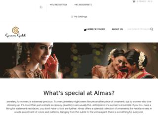 almasgold.com screenshot