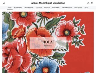 almasoilclothandchucherias.com screenshot
