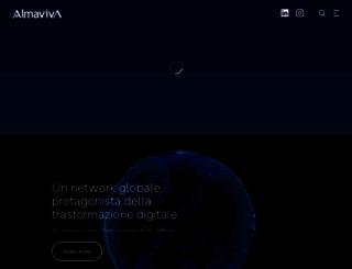 almaviva.it screenshot