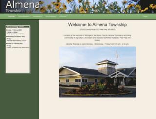almenatownship.org screenshot