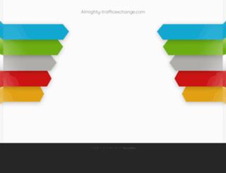 almighty-trafficexchange.com screenshot