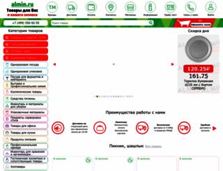 almin.ru screenshot