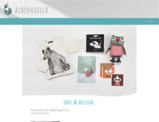 almondella.com screenshot