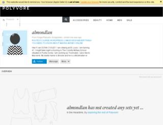 almondlan.polyvore.com screenshot
