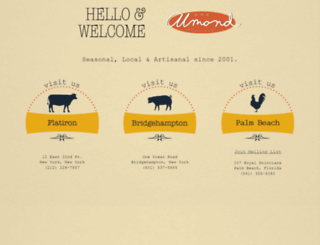 almondnyc.com screenshot