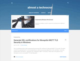 almost-a-technocrat.blogspot.com screenshot