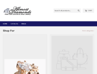 almostdiamonds.com screenshot