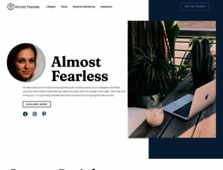 almostfearless.com screenshot