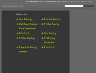 almotorsports.com screenshot
