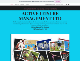 almsport.co.uk screenshot
