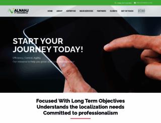 alnahj.com screenshot