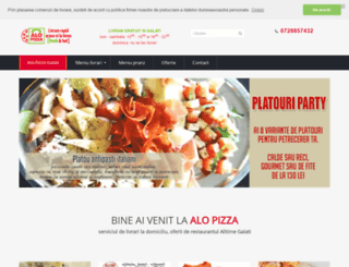 alo-pizza.ro screenshot