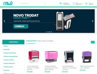 alocarimbos.com.br screenshot