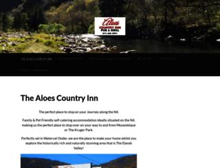 aloescountryinn.co.za screenshot
