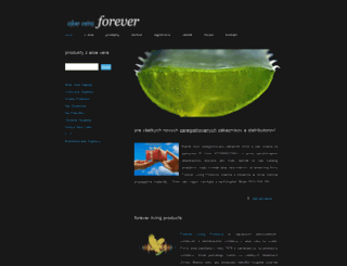 aloeveraforever.sk screenshot