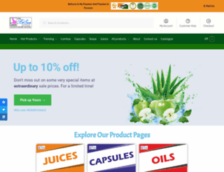 aloeveraindia.com screenshot