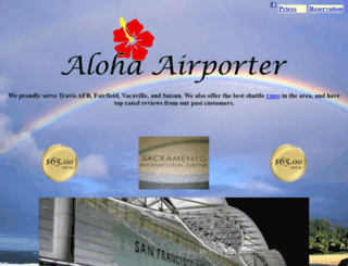 alohaairporter.com screenshot