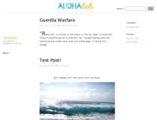 alohalah.wordpress.com screenshot