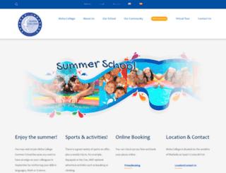 alohasummerschool.com screenshot