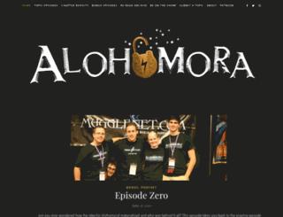 alohomora.mugglenet.com screenshot