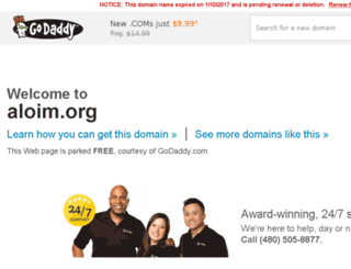 aloim.org screenshot