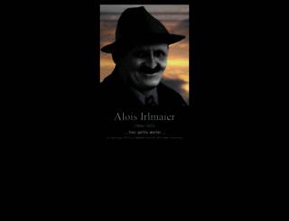 alois-irlmaier.de screenshot