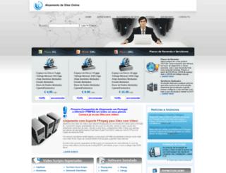 alojamentositesonline.com screenshot