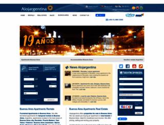 alojargentina.com screenshot