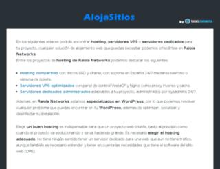 alojasitios.com screenshot