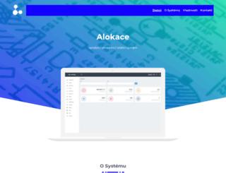 alokace.cz screenshot