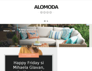 alomodashop.ro screenshot