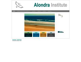 alondra-institute.com screenshot