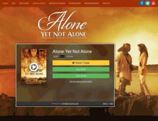 aloneyetnotalone.com screenshot