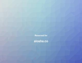 alosha.co screenshot