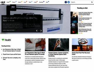 alot.com screenshot